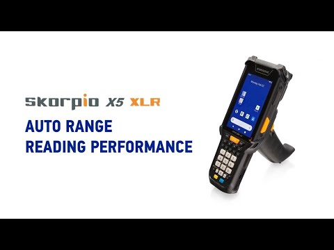 Skorpio™ X5 XLR - Auto Range reading performance