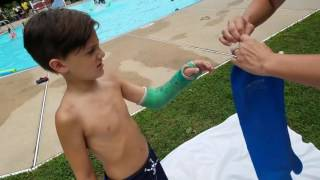 Dry Pro Swim While Being In A Cast 100 Waterproof Samye