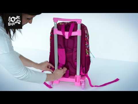 Como colocar la Mochila Doble Busquets en el carro Busquets - Nuevo método 2