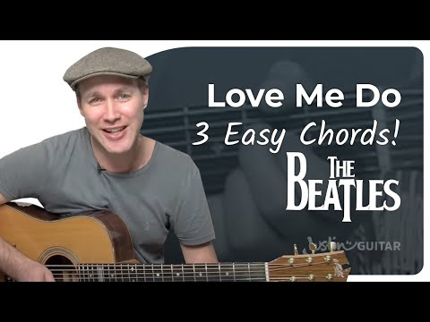 Watch Love Me Do - The Beatles (Very Easy Beginner Song Guitar Lesson BS-108) How To Play on YouTube