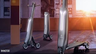 This portable smart scooter might be better than your car