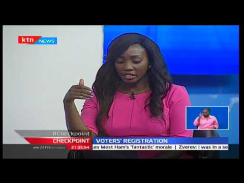 Checkpoint: Voters' registration with Peter Kagwanja, Daisy Amdany and Dr. Adams Oloo 22/1/2017