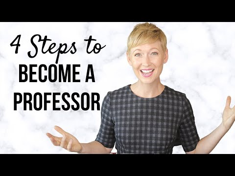 Applying for a College Professor Teaching Position