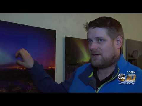 Calumet man makes money chasing Northern Lights