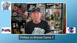 Philadelphia Phillies Vs Atlanta Braves Game 2 Free Pick 8/9/20 MLB Pick And Prediction