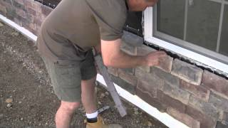 Install Water table Sills Under A Window