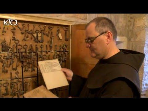 Frère Stéphane, gardien des lieux saints
