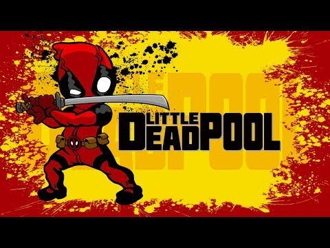 超強老爸為兒子拍攝《小小死侍》影片~ Little Deadpool