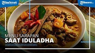 Sajian Sarapan saat Iduladha, Nasi Daging Santan, Seperti Apa Bumbu dan Cara Memasaknya?