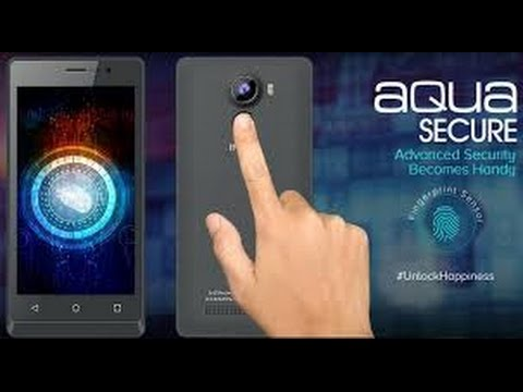 Unboxing of Intex Aqua Secure with Fingerprint sensor in Hindi
