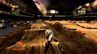 MX Vs ATV REFLEX   Multiplayer Supercross   5 Lap Battle (Kingston Round 2)
