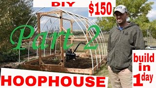 ORGANIC GARDENING--Build a Winter Greenhouse in 1 day for