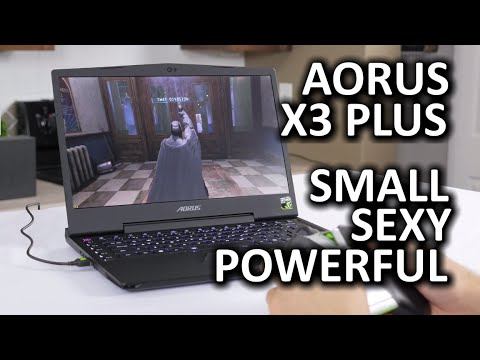 AORUS X3 Plus - 3K Gaming Laptop