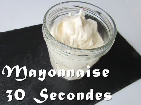 Mayonnaise fait maison express