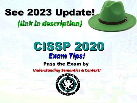 Larry Greenblatt - CISSP 2020 Exam Tips - YouTube