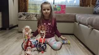 Велосипед для Барби из FixPrice (распаковка) куклы тестируют велик