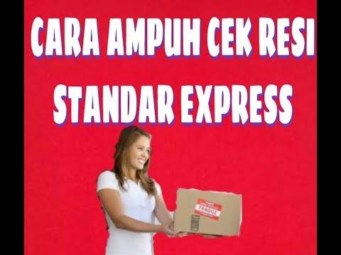 TUTORIAL.!!Cek Resi Standar Express
