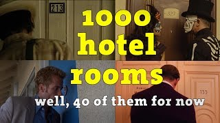 1000 Hotel Rooms - Collecting hotel room numbers 1 to 1000