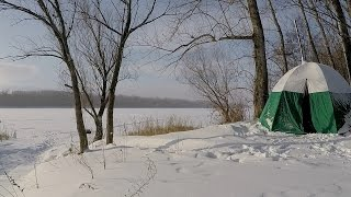 Палатка для зимней рыбалки самара