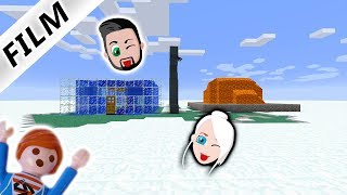 MINECRAFT Playmobil Luxusvilla Bauen GARAGE VON FAMILIE VOGEL - Minecraft wasser hauser
