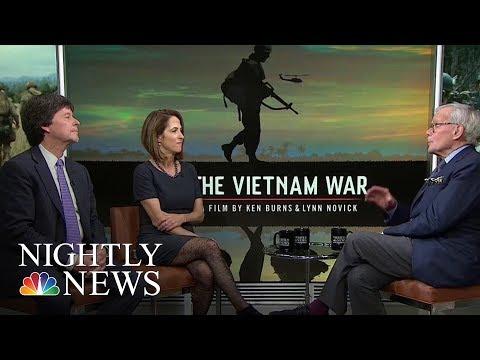 'Vietnam War' Filmmakers Ken Burns and Lynn Novick Speak To Tom Brokaw | NBC Nightly News