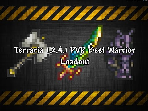 Terrarria 1 3 - THE ULTIMATE MELEE LOADOUT - The Best Melee