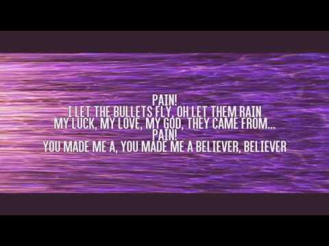 Believer lyrics video