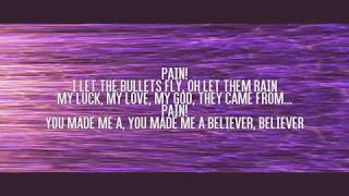 Gambar cover Believer lyrics video