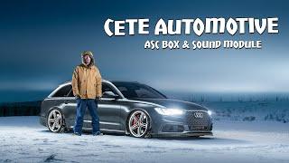 Audi A6 4G Cete Automotive ASC box and exhaust module.
