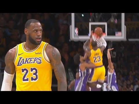 LeBron James Shocking Lakers and Bringing Showtime Back To Los Angeles! Lakers vs Kings