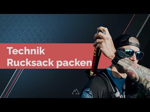 Trail Running Technik - RUCKSACK PACKEN (Anleitung)