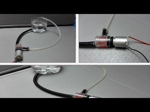 Comment faire une pompe à eau