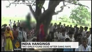 Indian girls found hanging after gang-rape