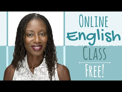 Online English Class FREE (Learn grammar from a native speaker)   Online English Classes for Adults
