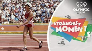 The Most Incredible Final Lap in Olympic Marathon History | Strangest Moments