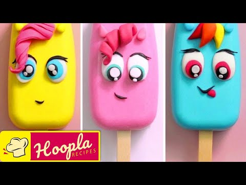 My Little Pony Cake Pops | Easy Cartoon Cakes by Hoopla Recipes