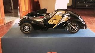 Bugatti 57SC Atlantic 1938 1/18 diecast by autoart ( my car no 5)