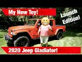 Why I went from a Full size to a Mid Size Truck! My New 2020 Jeep Gladiator - Launch Edition!