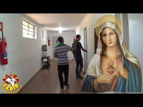 Herança Maldita Leva o Padre Valdir da Igreja Nossa Senhora das Dores a Benzer a Prefeitura de Juquitiba