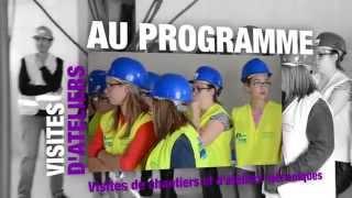 Les Coulisses du Bâtiment et des Travaux Publics, 8 & 9 octobre 2015 | Fédération BTP 84