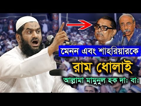 This Is Just Available Allama Mamunul Haque New Bangla Waz 2019