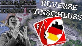 Hearts of Iron IV: REVERSE ANSCHLUSS - What if Hitler Ruled Austria?