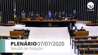 Plenário - Discussão e votação de propostas - 07/07/2020 13:55