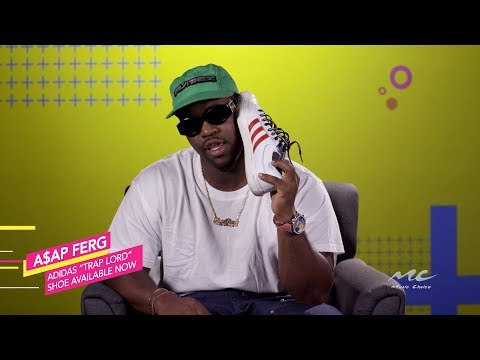 A$AP Ferg's New Adidas Shoes