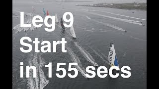 VOR: Leg 9 start in Newport in 2.5 minutes of Volvo video; was the penalty to TTOP the correct call?