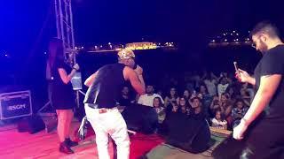 Carmen Zarra Ft. Daleka   Delirio ( VIDEO LIVE 2018 )