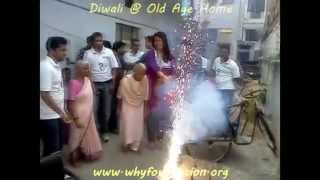 Diwali @ Old Age Home (2)