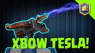 UNSTOPPABLE XBOW TESLA DECK! Ladder ✓ Challenges ✓ - Clash Royale