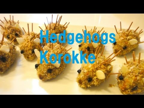 , title : 'Non-fry Hedgehog Korokke(croquette) ノンフライはりねずみコロッケ