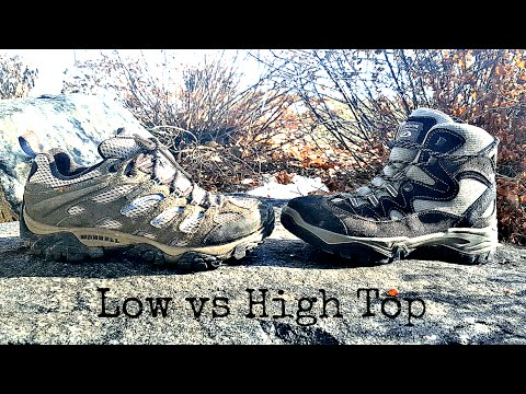 High vs Low Top Waterproof Hiking Shoe Review